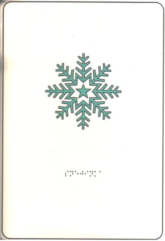 """Иллюстрация к книге """"Загадки для детей"""". Снежинка."""