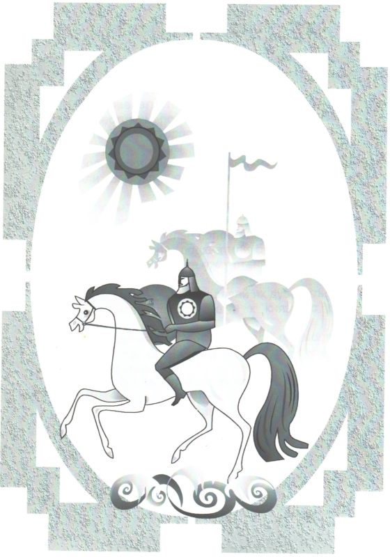 """Иллюстрация к книге """"О чем рассказали башни Нижегородского кремля"""""""