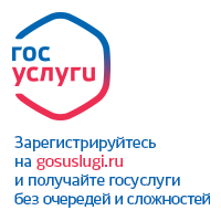 Банер на сайт гос услуги