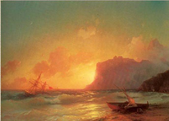 И.К. Айвазовский. Море. Коктебель.1853