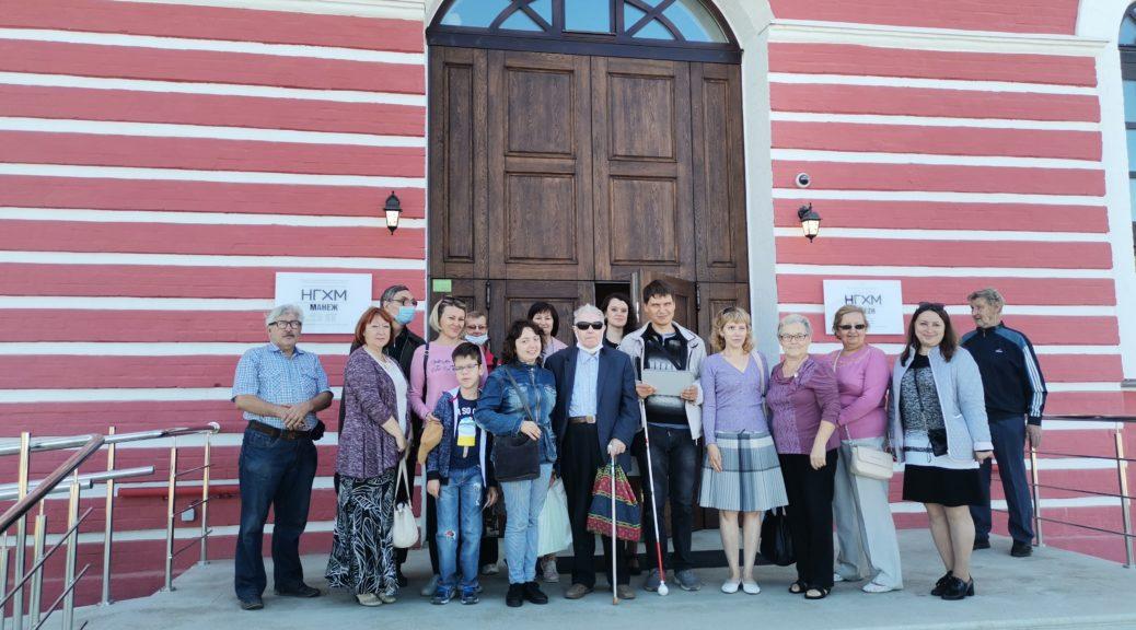 Тифлоэкскурсия в манеж «Прикоснуться к истории Нижнего Новгорода»