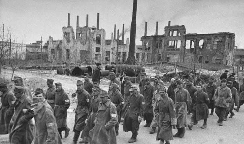 Пленные немецкой армии
