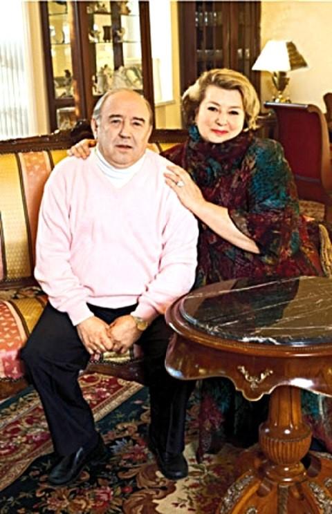 Супруги Владимир Крайнев и Татьяна Тарасова