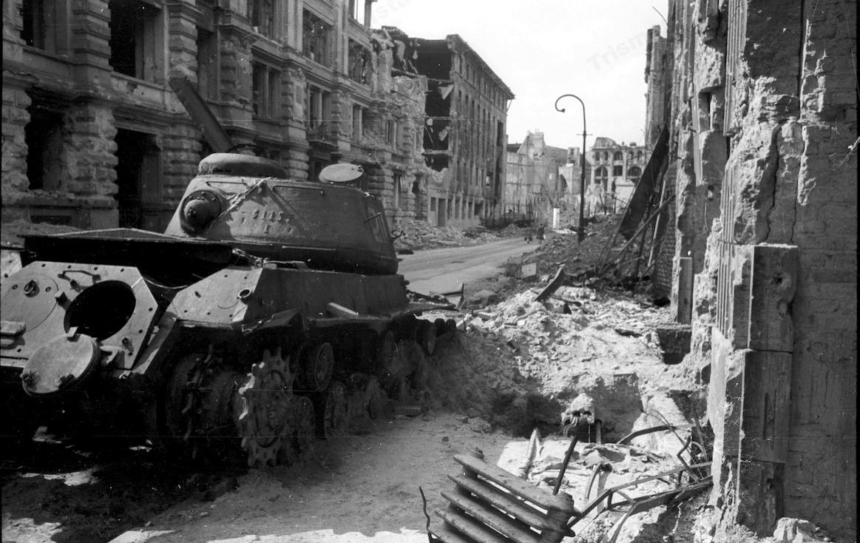Улицы Берлина после штурма