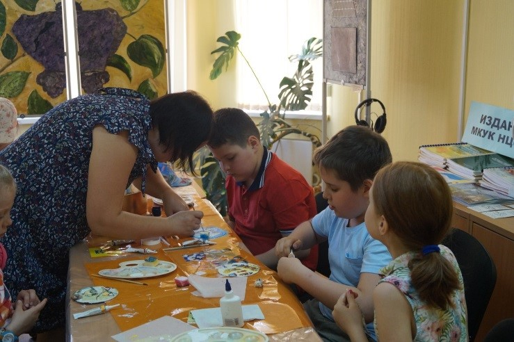 Дети на мастер-классе